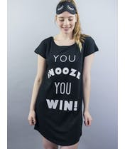 You Snooze You Win - Night Shirt