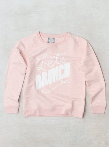 Let's Brunch Womens Sweatshirt | Womens Slogan Jumpers | Alphabet Bags