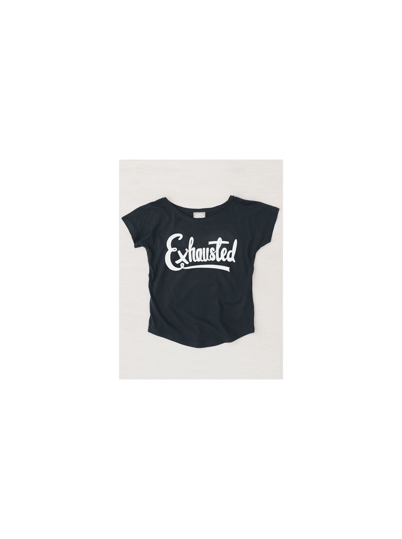 Exhausted - Womens T-Shirt