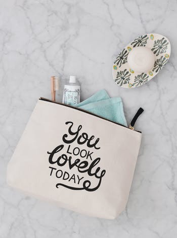 You Look Lovely Today | Ladies Cosmetics Bags | Alphabet Bags