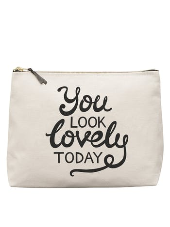 You Look Lovely Today - Wash Bag - Second