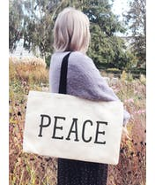 Peace - Canvas Tote Bag