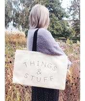 Things & Stuff - Canvas Tote Bag