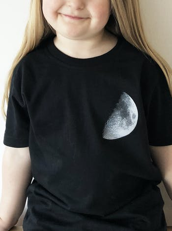 Moon T-Shirt Set | Mum and Baby TShirt Set | Alphabet Bags