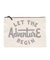 Let the Adventure Begin - Extra Large Travel Pouch