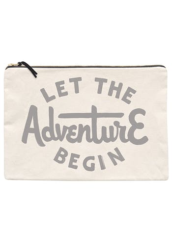 Adventure XL Pouch | Travel Wallet | Alphabet Bags