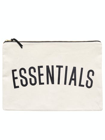 Essentials Extra Large Canvas Pouch | Nappy Pouch | Alphabet Bags