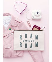 Roam Sweet Roam - Extra Large Travel Pouch