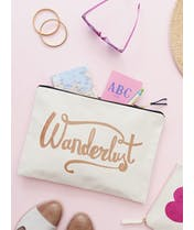 Wanderlust - Extra Large Travel Pouch